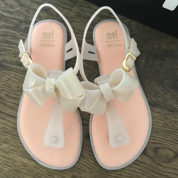 7c5d16a9bd7e Mini Melissa Mel T-strap Jelly Sandal (girls)